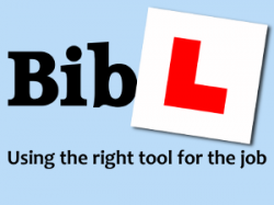 Bib-L: Using the right tools for the job