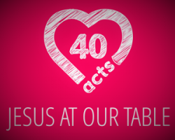 Jesus at our table 3: Loving Generously