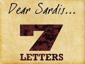 7 letters 5 - Sardis