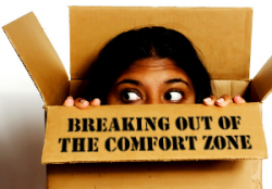 Breaking Out of the Comfort Zone