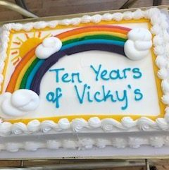 Happy 10th birthday Vicky's Tea Room!