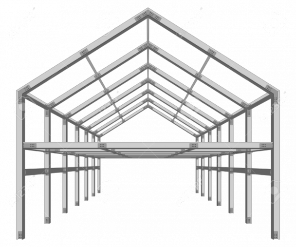 Steel Framed Building