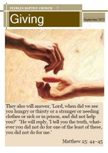 September 2013 Magazine