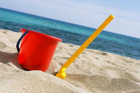 bucket and spade