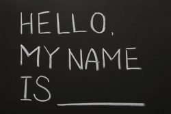 Building Project: What's in a name?
